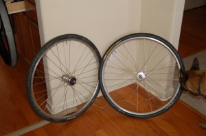Before- Kenda Kommando Clinchers (and Turbo)